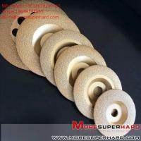 Buy cheap Vacuum brazing diamond abrasive disc  Alisa@moresuperhard.com from wholesalers