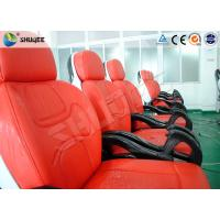 Buy cheap Business Center 5D Cinema Equipment With Safety Chair / Push Back Function product