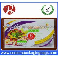 Buy cheap Laminated Instant Noodles Food Custom Printed Plastic Bags 3 Sides Heat Sealing from wholesalers