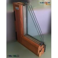 Buy cheap High grade Three layers glass Aluminium Window Profiles in apartment building from wholesalers