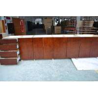 Buy cheap bamboo veneer kitchen cabinet,stock kitchen cabinet,kitchen project for Canada from wholesalers