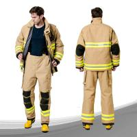 Buy cheap Four Layers Lightweight FR Coveralls Various Size 17000pa Hydrostatic Pressure from wholesalers