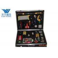 Buy cheap Fusion Splicing Fiber Optic Tool Kit 26 Yools In One Case 430 × 330 × 135 mm from wholesalers