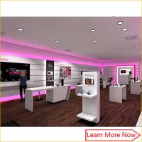 Buy cheap Customized OEM fixture manufacture mobile phone shop interior design from wholesalers