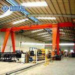 Buy cheap 12 - 35m Single Girder Eot Crane , Stable 5 Ton / 10 Ton Overhead Crane from wholesalers