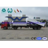 Buy cheap High strength steel 2 axles side tipper trailer with mechanical suspension from wholesalers
