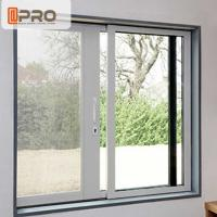 Buy cheap Waterproof Anodised Aluminium Sliding Windows With Single Tempered Glass product