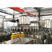 Buy cheap PLC Washing Capping Juice Bottle Filling Machine 3 Phase For 500ML Plastic Bottles from wholesalers