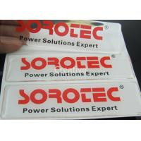 Buy cheap Self - Adhesive Polyurethane Domed Labels / PU Logo Resin Domed Labels product