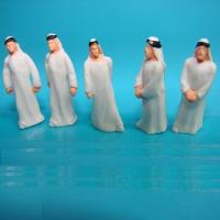 Buy cheap 1:50 Arabic figures--scale figure,architectural model people,1:25 painted Arabic figures,scale people,model stuffs from wholesalers