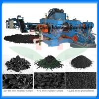 Buy cheap 10-20Tons waste tire recycling machine /tire shredder/tire recycling plant from wholesalers