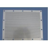 Buy cheap 1.22x1.22m anodizing diamond perforated sheet metal for Africa / round hole decorative perforated metal sheet for Wester from wholesalers