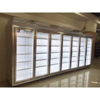 Buy cheap Fridge Freezer Glass Display Cold Room , Commercial Freezer Room 380V / 50Hz from wholesalers