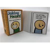 Buy cheap Friends Family Joking Hazard Card Games For Grown Ups Fashion Design from wholesalers