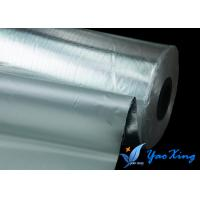 Buy cheap Thin  Light Weight Aluminum Coated Fiberglass Good Heat Insulation Weather Resistance from wholesalers