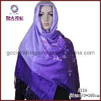 Buy cheap Embroidery Pattern New Style Muslim Scarf (AT16) from wholesalers
