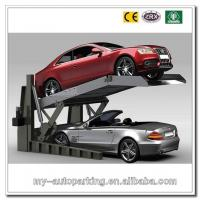 Buy cheap CE Certificate Double Car Parking Stacker System In Ground 2 Post Vertical Parking Lift product