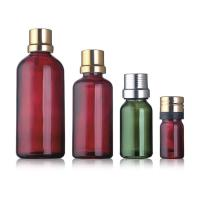 Buy cheap 15ml Glass Oil Containers , Skin Care Essential Oil Vials With Silk Screen Printing from wholesalers