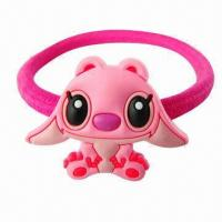 Buy cheap Cute Cartoon Children's Hair Accessories, Made of Plastic and PVC product