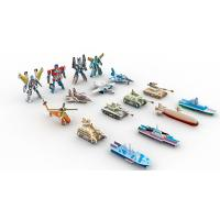 Buy cheap Collectible Toys | Gifts & Premiums Variety 3D Puzzle 16 Figurines | Ship,Robot,Plane,Tank from wholesalers