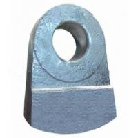 China Super Alloy Manganese Steel Crusher Hammer on sale