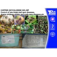 Buy cheap Foliar Fungicide Copper Oxychloride 50% WP Agricultural Fungicides from wholesalers