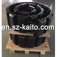 Buy cheap rubber tracks and rubber track pad for paver, combine harvester, excavator, truck,snow blower from wholesalers
