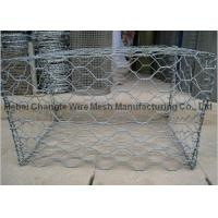 China Customized Stone Cages For Retaining Walls , Durable Hexagonal Wire Rock Baskets on sale