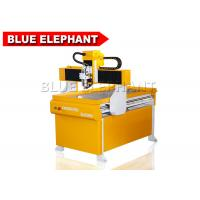 Buy cheap Portable 4 Axis 6090 Mini Cnc Pcb Router / Math3 Cnc Controller Router With Rotary Device from wholesalers