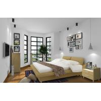 Buy cheap Cheap Apartment Furniture Space Saving New Residence Bedroom Fabric Upholstered from wholesalers