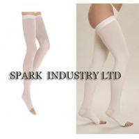 Buy cheap Open Toe Medical Compression Stockings Of Thigh High Anti - Embolism Stocking from wholesalers