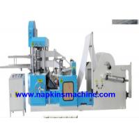 Buy cheap Recycling 2 Deck Tissue Paper Making Machine / Napkin Packing Machine from wholesalers