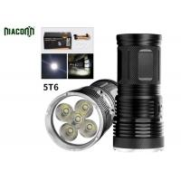 Buy cheap Long Backup Time Led Hunting Flashlight With Rechargeable 8800mah Battery from wholesalers