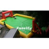 Buy cheap Sealed Inflatable Football Games , Inflatable football Pitch for Sport Games from wholesalers