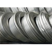 Buy cheap High Potential magnesium anode zinc ribbon anode For Buries Structures from wholesalers
