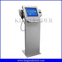 Buy cheap Super slim information kiosk with chip cardreader, handset    custom kiosk design TSK8001 from wholesalers