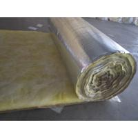 Buy cheap foil faced glass wool insulation blanket from wholesalers