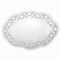Buy cheap Doilies, Made of 100% Food Grade Greaseproof Paper, Customized Sizes are Welcome from wholesalers