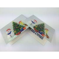 Buy cheap PET Visiting Cards 3d Lenticular Printing Services For Tourism , Full Color from wholesalers