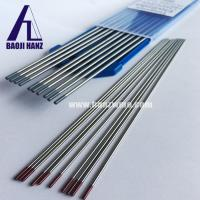 Buy cheap WT20 2.4*175mm tungsten electrode for tip welding red color mark from wholesalers