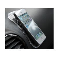 Buy cheap Black Car Non Slip Dashboard Mat Hold Sunglasses / IPad , Sticky Non Slip Cell Phone Pad from wholesalers