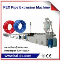Buy cheap Cross-linked PEX Tube Extruder Machine Supplier China High Speed 35m/min from wholesalers