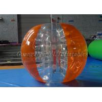 Buy cheap 1.55m 1.88m Soccer 0.7 TPU Inflatable Body Bumper Ball With Logo from wholesalers