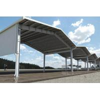 Buy cheap long large span with big canopy Storage warehouse from wholesalers