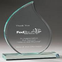 Buy cheap Personalized 380 * 220mm  Acrylic Award Trophy Plaques Medal Customized from wholesalers