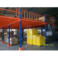 Buy cheap Heavy Duty Steel Structure Mezzanine Floor For Warehouse Storage Rack Supported  from wholesalers