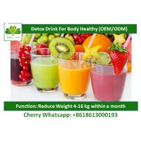 Buy cheap Vegetarian Weight Loss Natural Detox Drinks For Skin Health Free Sample from wholesalers