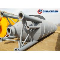Buy cheap 50T Bolted Steel Cement Storage Silo Bulk Fly Ash Silo For Concrete Mixing Plant from wholesalers