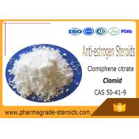 Buy cheap CAS 50-41-9 Anti estrogen Steroids Clomiphene citrate Clomid with No side Effect from wholesalers