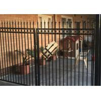 Buy cheap Powder Coated Automatic Driveway Gates Rot Proof For Home / Countyard from wholesalers